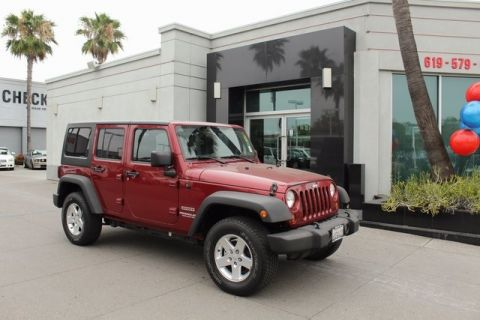 Pre-Owned 2012 Jeep Wrangler Unlimited Sport 4WD