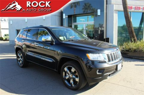Pre-Owned 2012 Jeep Grand Cherokee Overland 4WD