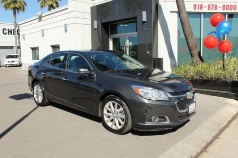 Pre-Owned 2014 Chevrolet Malibu LTZ FWD 4D Sedan