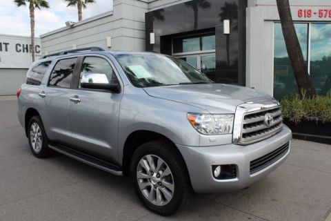 Pre-Owned 2014 Toyota Sequoia Limited 4WD
