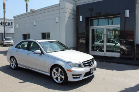 Pre-Owned 2014 Mercedes-Benz C-Class C350 RWD 4D Sedan