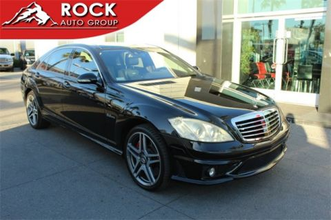 Pre-Owned 2008 Mercedes-Benz S-Class S 63 AMG® RWD 4D Sedan